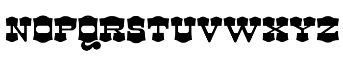 Dude-Tammy Font UPPERCASE
