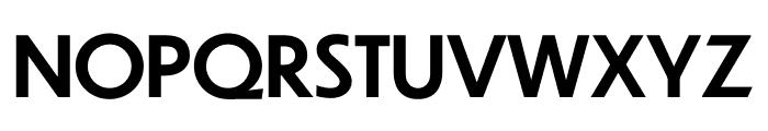 Dunbar Font UPPERCASE