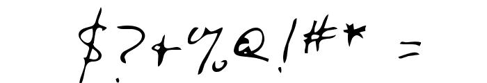 Dunsay Regular Font OTHER CHARS