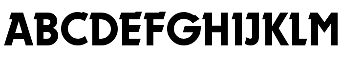 Durango-Regular Font UPPERCASE