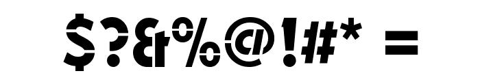 Durango-Stencil-Medium-Regular Font OTHER CHARS