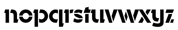 Durango-Stencil-Medium-Regular Font LOWERCASE