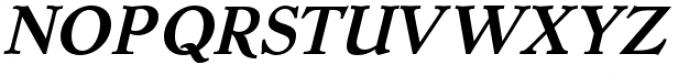 Dutch Mediaeval Pro Bold Italic Regular Font UPPERCASE