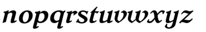 Dutch Mediaeval Pro Bold Italic Regular Font LOWERCASE