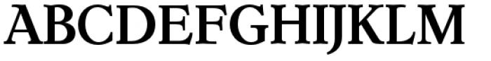 Dutch Mediaeval Pro Bold Regular Font UPPERCASE