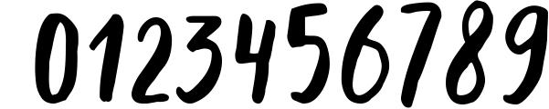 Dummy�handwritten font Font OTHER CHARS