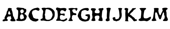 Du Bellay Italic Font UPPERCASE