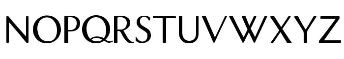 DualisLite Font UPPERCASE