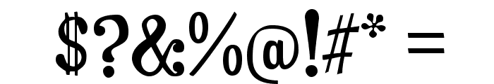 Duality-Regular Font OTHER CHARS