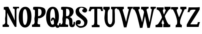 Duality-Regular Font UPPERCASE