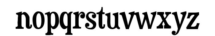 Duality-Regular Font LOWERCASE