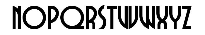 DubbaDubbaA Font UPPERCASE
