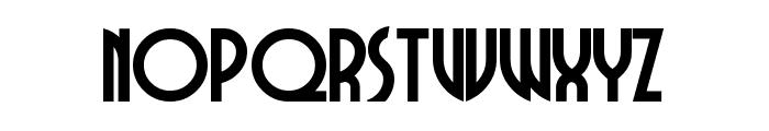 DubbaDubbaA Font LOWERCASE
