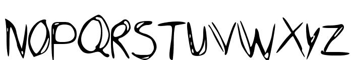 Dubble Font UPPERCASE