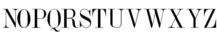 DubielPlain Font UPPERCASE