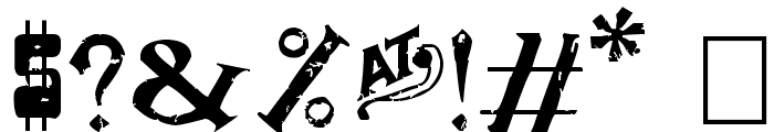 Dude Ranch Font OTHER CHARS