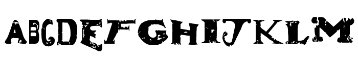 Dude Ranch Font UPPERCASE