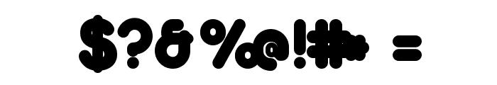 Duepuntozero Black Font OTHER CHARS