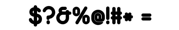 Duepuntozero ExtraBold Font OTHER CHARS