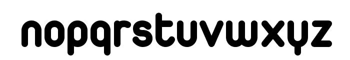 Duepuntozero ExtraBold Font LOWERCASE