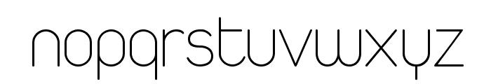 Duepuntozero ExtraLight Font LOWERCASE
