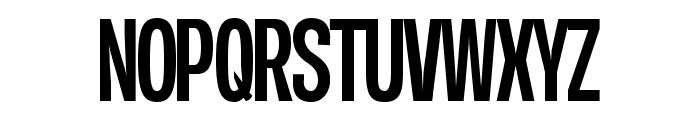 Duera PERSONAL USE Condensed Medium Font UPPERCASE