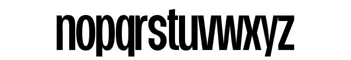 Duera PERSONAL USE Condensed Medium Font LOWERCASE