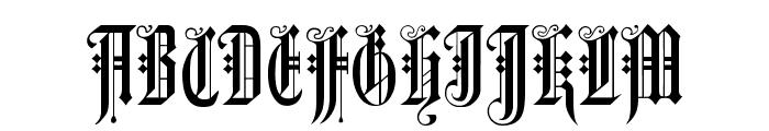 Duerer Gotisch Font UPPERCASE