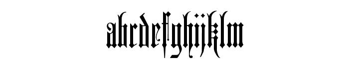 Duerer Gotisch Font LOWERCASE