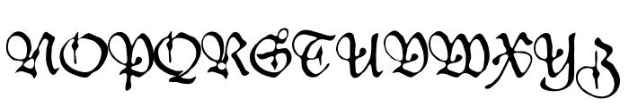 Duke Font UPPERCASE