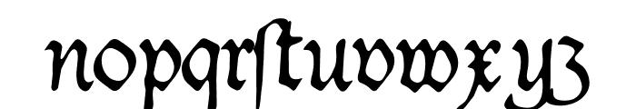 Duke Font LOWERCASE