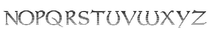 Dumbledor 1 Cut Up Font UPPERCASE