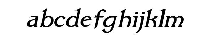 Dumbledor 1 Italic Font LOWERCASE