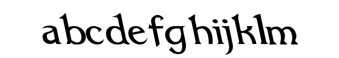 Dumbledor 1 Rev Italic Font LOWERCASE