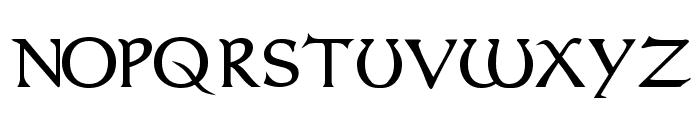 Dumbledor 1 Font UPPERCASE