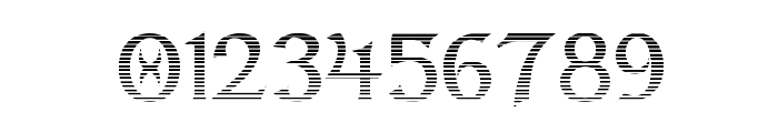 Dumbledor 2 Cut Up Font OTHER CHARS