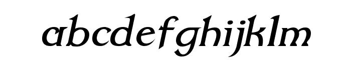 Dumbledor 2 Italic Font LOWERCASE
