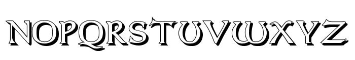 Dumbledor 2 Shadow Font UPPERCASE