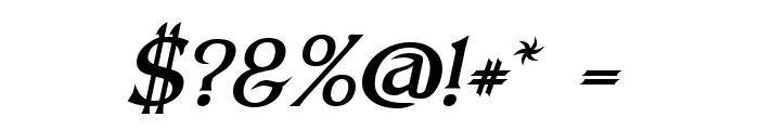 Dumbledor 3 Italic Font OTHER CHARS