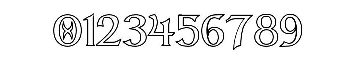 Dumbledor 3 Outline Font OTHER CHARS