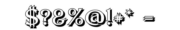 Dumbledor 3 Shadow Font OTHER CHARS