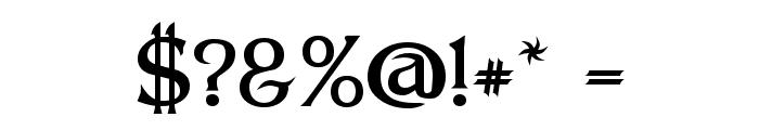 Dumbledor 3 Font OTHER CHARS