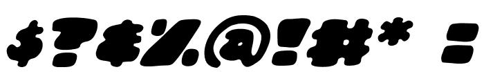 DunceCapBB-Italic Font OTHER CHARS