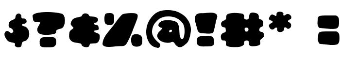 DunceCapBB Font OTHER CHARS