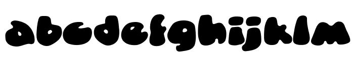 DunceCapBB Font LOWERCASE