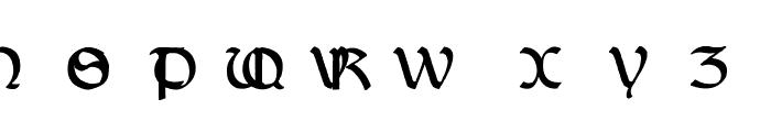 Dundalk Font UPPERCASE