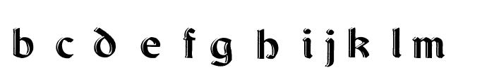 Dundalk_HandDrawn Font LOWERCASE