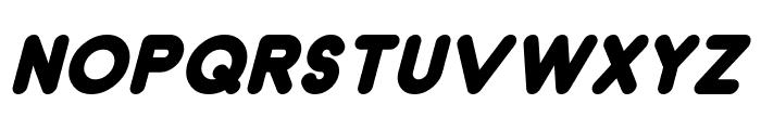 Dunkin Italic Font UPPERCASE
