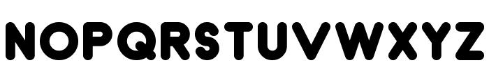 Dunkin Font UPPERCASE