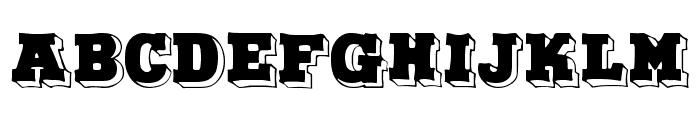 Duo Dunkel Font UPPERCASE